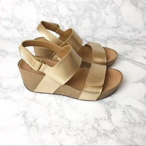 Clarks Collection Wedge Sandals